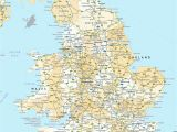 Road Map Of England and Wales England Map Amnet