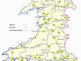 Road Map Of Ireland 2012 Trunk Roads In Wales Wikipedia
