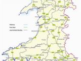 Road Map Of Ireland Pdf Trunk Roads In Wales Wikipedia