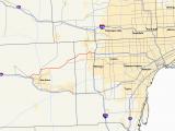 Road Map Of Michigan Highways M 14 Michigan Highway Wikipedia