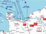 Road Map Of normandy France Pegasus Bridge normandy D Day 6 June 1944