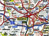 Road Map Of southern England England Road Maps Detailed Travel tourist Driving
