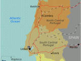 Road Map Of Spain and Portugal Portugal Wikitravel