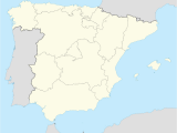 Road Map Of Spain with Cities A Vila Spain Wikipedia
