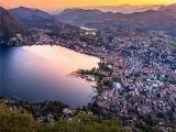 Road Map Of Switzerland and Italy Lugano Wikipedia
