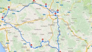 Road Map Of Tuscany Region Italy Tuscany Itinerary See the Best Places In One Week Florence