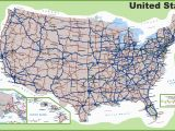 Road Map Of Utah and Colorado Usa Road Map