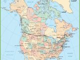 Road Map Of Western Canada Usa and Canada Map