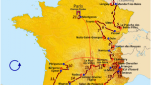 Rodez France Map 2017 tour De France Wikipedia