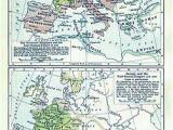 Roman Map Of Europe atlas Of European History Wikimedia Commons