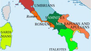 Roman Spain Map Map Of Italy and Surrounding areas Italy In 400 Bc Roman Maps Italy
