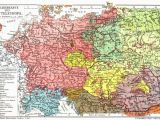 Romania On A Map Of Europe An Old Map Of Mitteleuropa there are No so Many Germans In