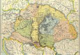 Romania On Europe Map Map Of Central Europe In the 9th Century before Arrival Of