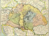 Romania On Map Of Europe Map Of Central Europe In the 9th Century before Arrival Of