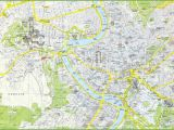 Rome Italy Sightseeing Map Rome tourist attractions Map
