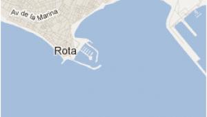 Rota Spain Map Map Of Rota Spain In Spain Flashback Pinterest Spain Rota