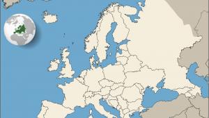 Rotterdam Map Europe Europe Europa Wikimedia Commons