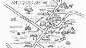 Roundtop Texas Map Antiques Show Map Round top Register Fall 2017 Round top