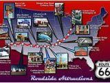 Route 66 Texas Map Route 66 Reisefuhrer Auf Wikivoyage