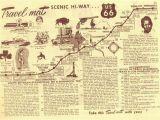 Route 66 Texas Map Route 66 Texas Map Route 66 Stops Between Shamrock Texas and Los