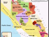 Russian River Map California sonoma Valley Elegant Russian River Valley California Map