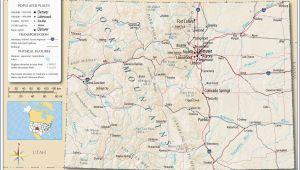 Rv Parks California Coast Map Rv Parks California Coast Map Detailed Colorado Detailed Road Map