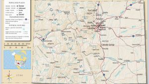 Rv Parks Colorado Map Rv Parks California Coast Map Detailed Colorado Detailed Road Map