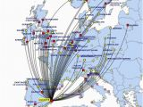 Ryanair Route Map Europe Ryanair to Cut Alicante Flights by 80 In October World