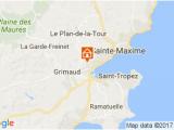 Saint Tropez France Map Ferienunterkunfte Die Fua E Im Wasser
