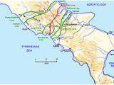 Salerno Port Italy Map Operation Avalanche Wikipedia