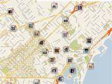 Salou Spain Map Barcelona Printable tourist Map Barcelona Barcelona Spanien