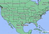 San Antonio Texas On A Map where is San Antonio Tx San Antonio Texas Map Worldatlas Com