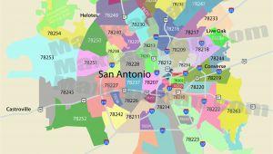 San Antonio Texas Zip Codes Map San Antonio Zip Code Map Mortgage Resources