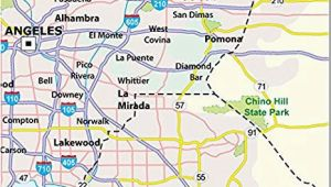 San Dimas California Map Amazon Com Los Angeles County Map Laminated 36 W X 37 H