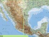 San Felipe Baja California Map San Felipe Baja California Map New Detailed Physical Map Mexico