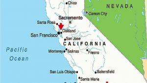 San Jose California Google Maps Map California Google Map California Cities California Map Map Of