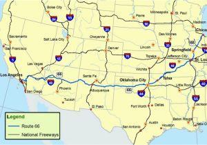 San Luis Colorado Map Maps Of Route 66 Plan Your Road Trip
