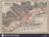 San Remo Italy Map Old Map Of Liguria Stock Photos Old Map Of Liguria Stock Images