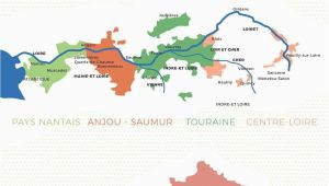 Sancerre France Map An Introduction to the Regions Of the Loire Valley Map Restaurant
