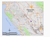 Sanger California Map Guijarral Hills Oil Field Wikipedia