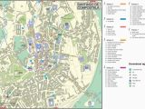 Santiago De Compostela Spain Map Santiago De Compostela City Center Map