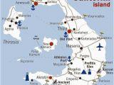 Santorini Italy Map Honeymoon What to Do and See In Santorini Greece Reisen