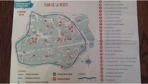 Sarlat France Map Plan De La Cite Historique De Sarlat Picture Of tourist