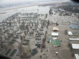 Satellite Map Minnesota Rising Rivers to Put More Communities at Risk Of Flood Disaster In