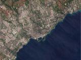 Satellite Map Of Canada Greater toronto area Wikipedia