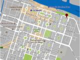 Savannah Georgia Map Historic District Map with Plaza Location Fronting Savannah River Picture Of