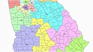 School Districts In Georgia Map Map Georgia S Congressional Districts