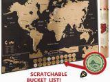 Scratch Off Europe Map Scratch Off World Map Poster Travel Journal as Travel Decor