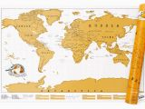 Scratch Off Europe Map World original Scratch Maps Large or Travel Editions