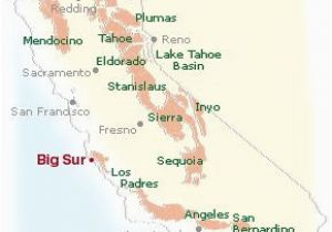 Seaside California Map Maps Directions and Transportation to Big Sur California